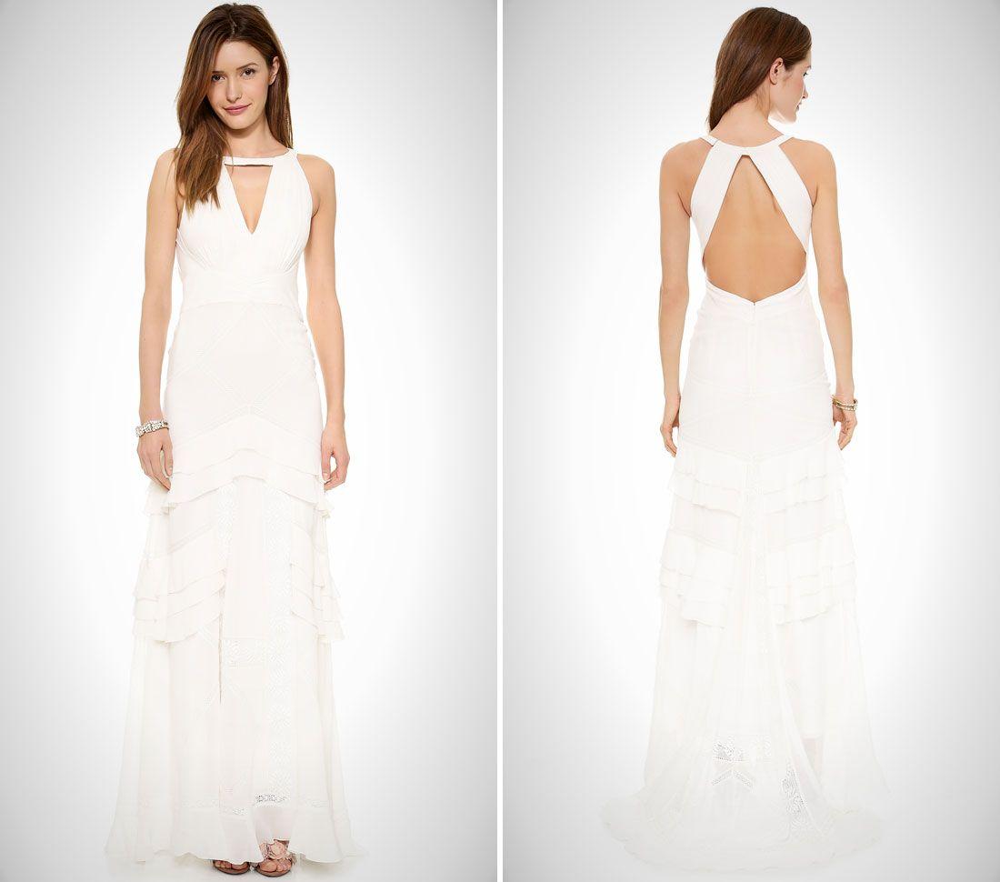 nontraditional wedding dresses for the modern bride via brit