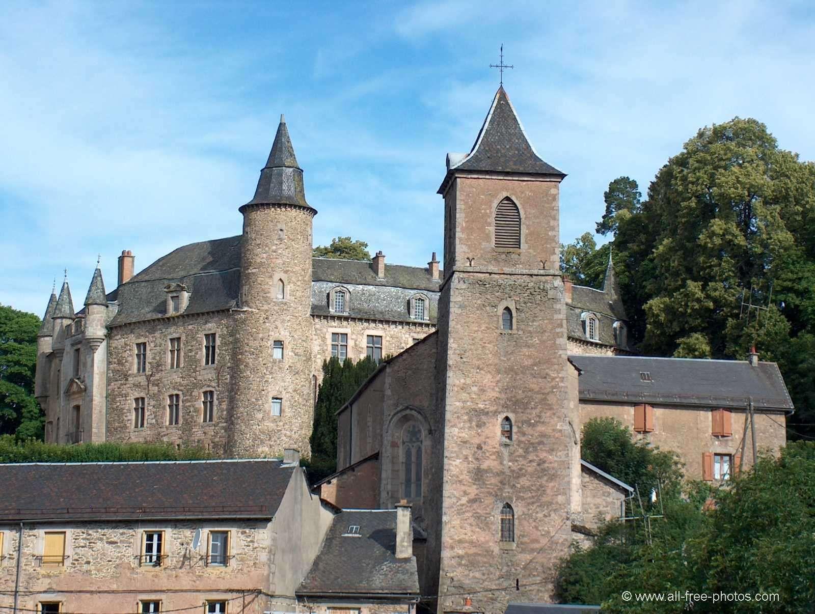 Château de Vézins-de-Lévézou . Midi-Pyrénées