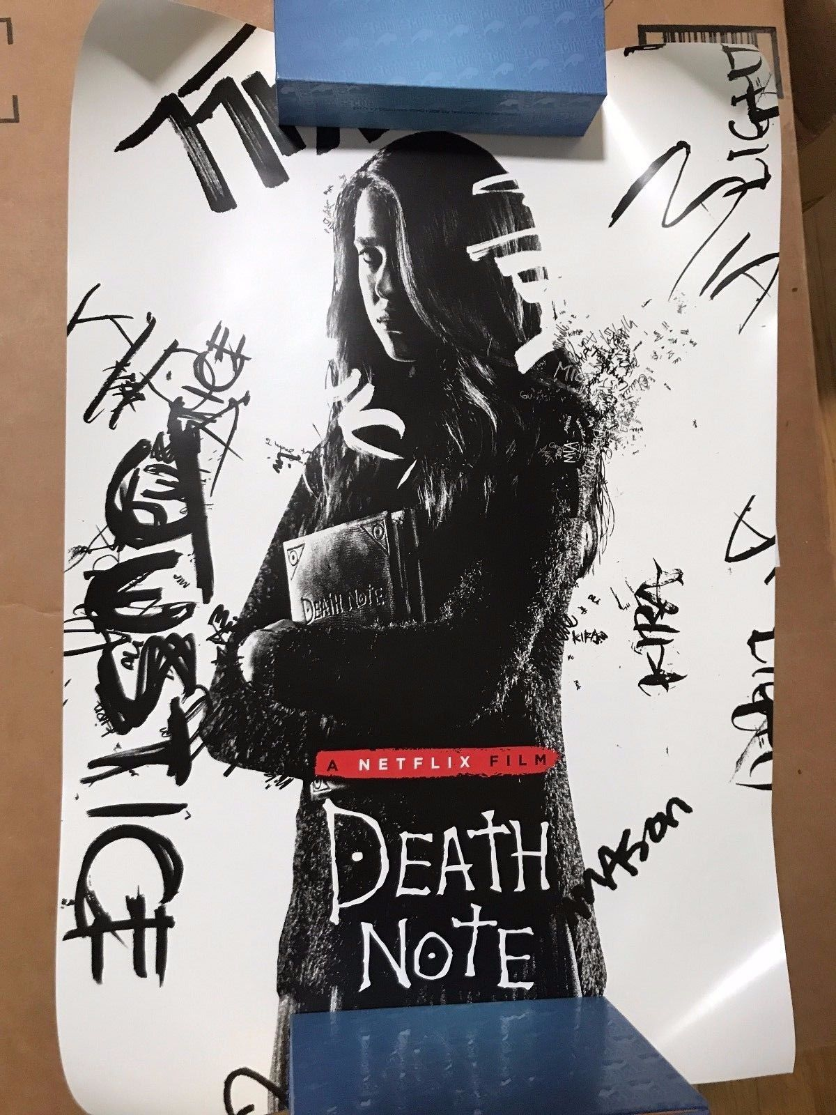 SDCC 2017 Death Note Poster