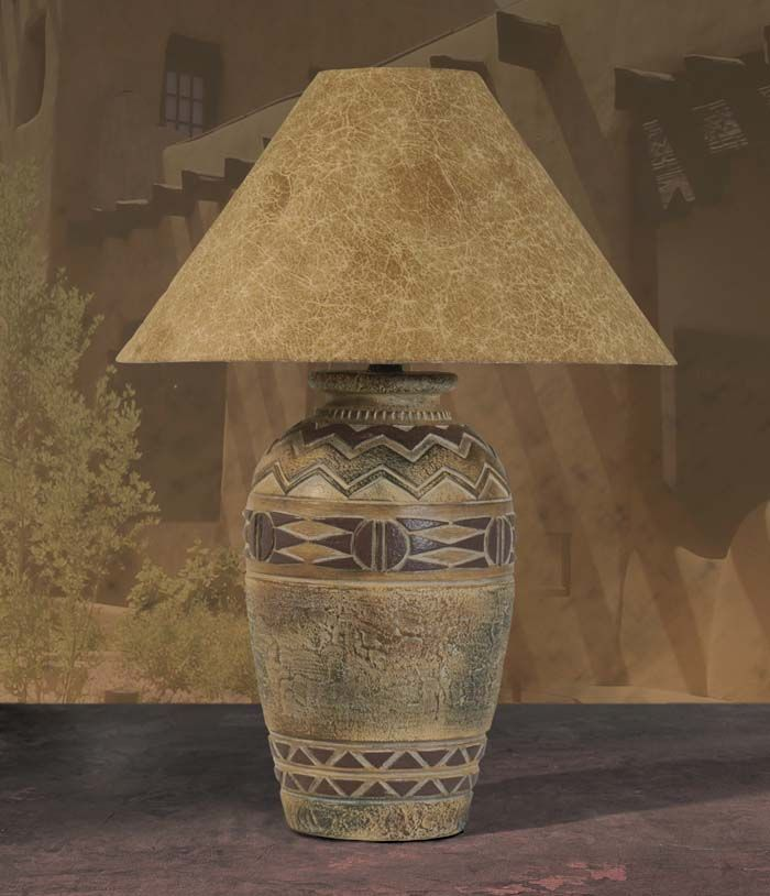 Desert Collection Lamp 071wd Table Lamp Southwestern Lamps Southwestern Decorating