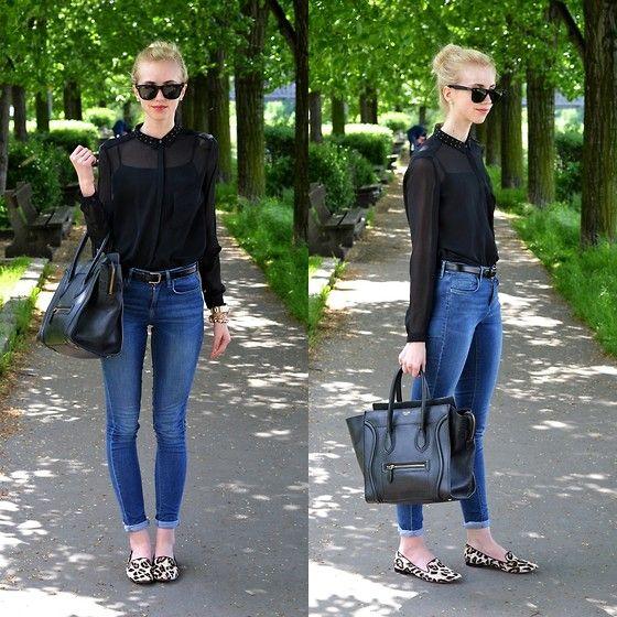 a11eb1c7d Zara Studded Blouse