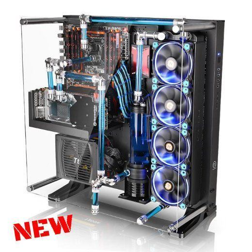 Gaming Pc Case Desktop Tower Computer Tempered Glass Wall Mount Chassis Atx Usb Custom Pc Build A Pc Custom Computer