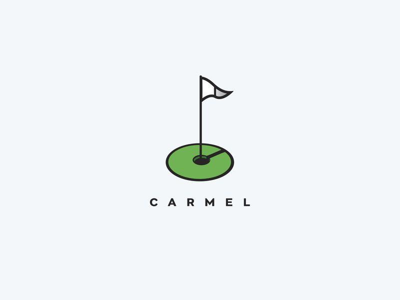 Proposed Carmel Golf Country Club Logo Golf Logo Design Golf Clubs Golf Logo