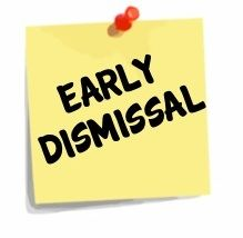Image result for early dismissal clip art