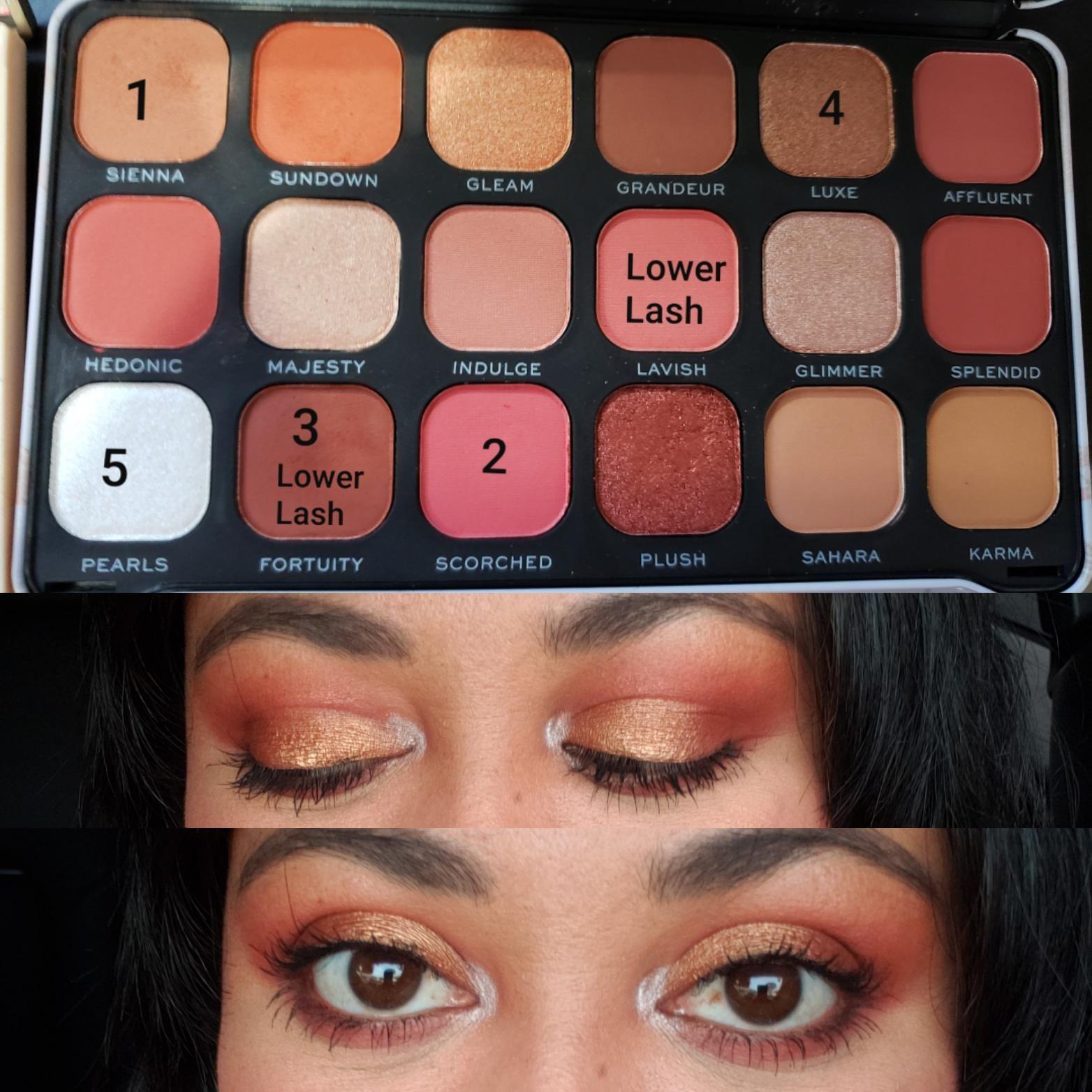 Makeup Revolution Forever Flawless Decadent palette https