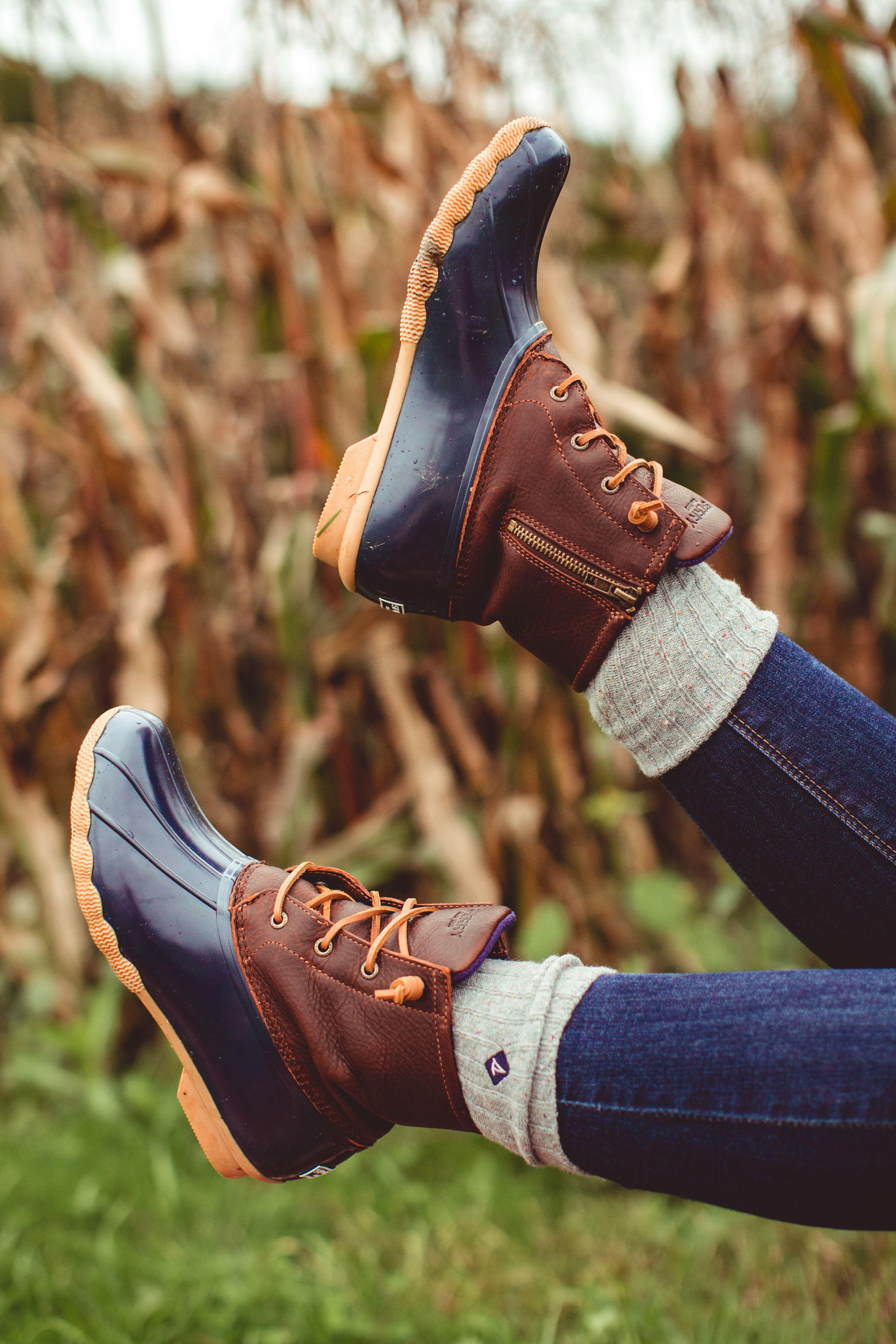 Saltwater duck boot, Womens duck boots