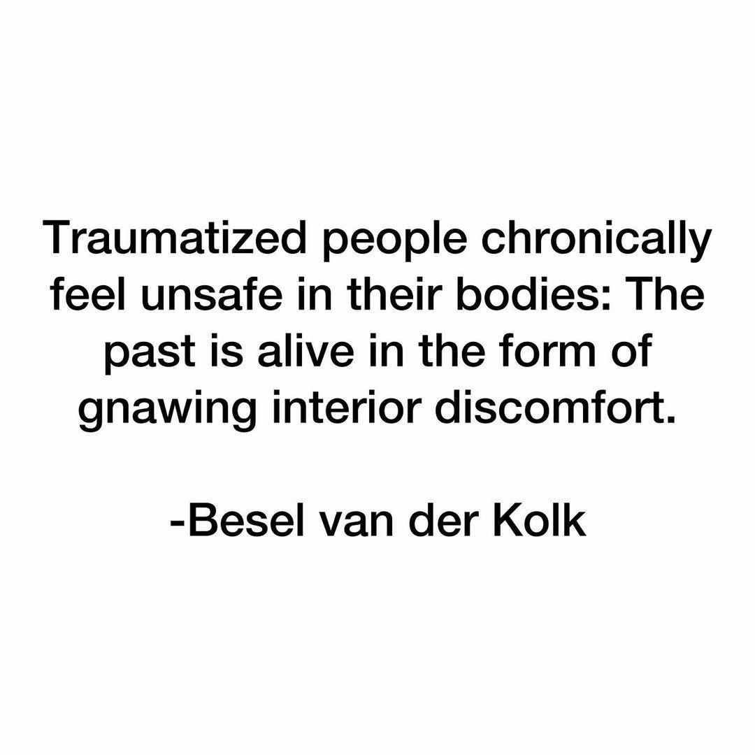 Ilene Smith On Instagram Bessel Van Der Kolk Is One Of The
