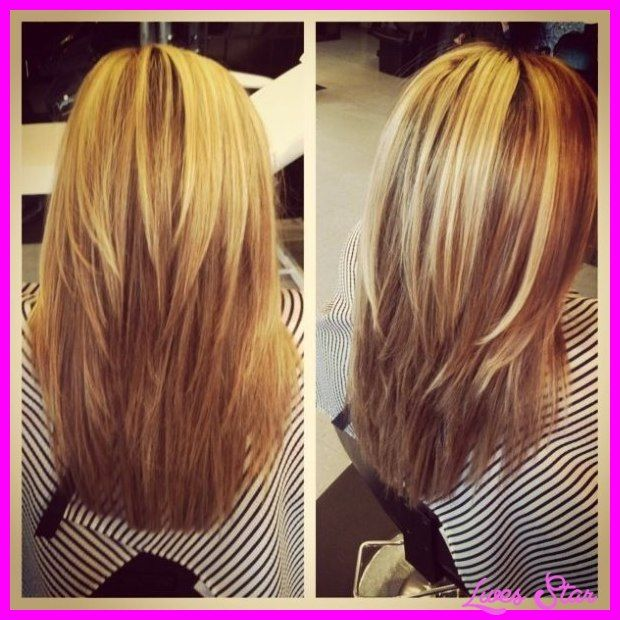 Awesome Long Choppy Layered Haircuts Back View Hairstyles Cutsmedium Straight