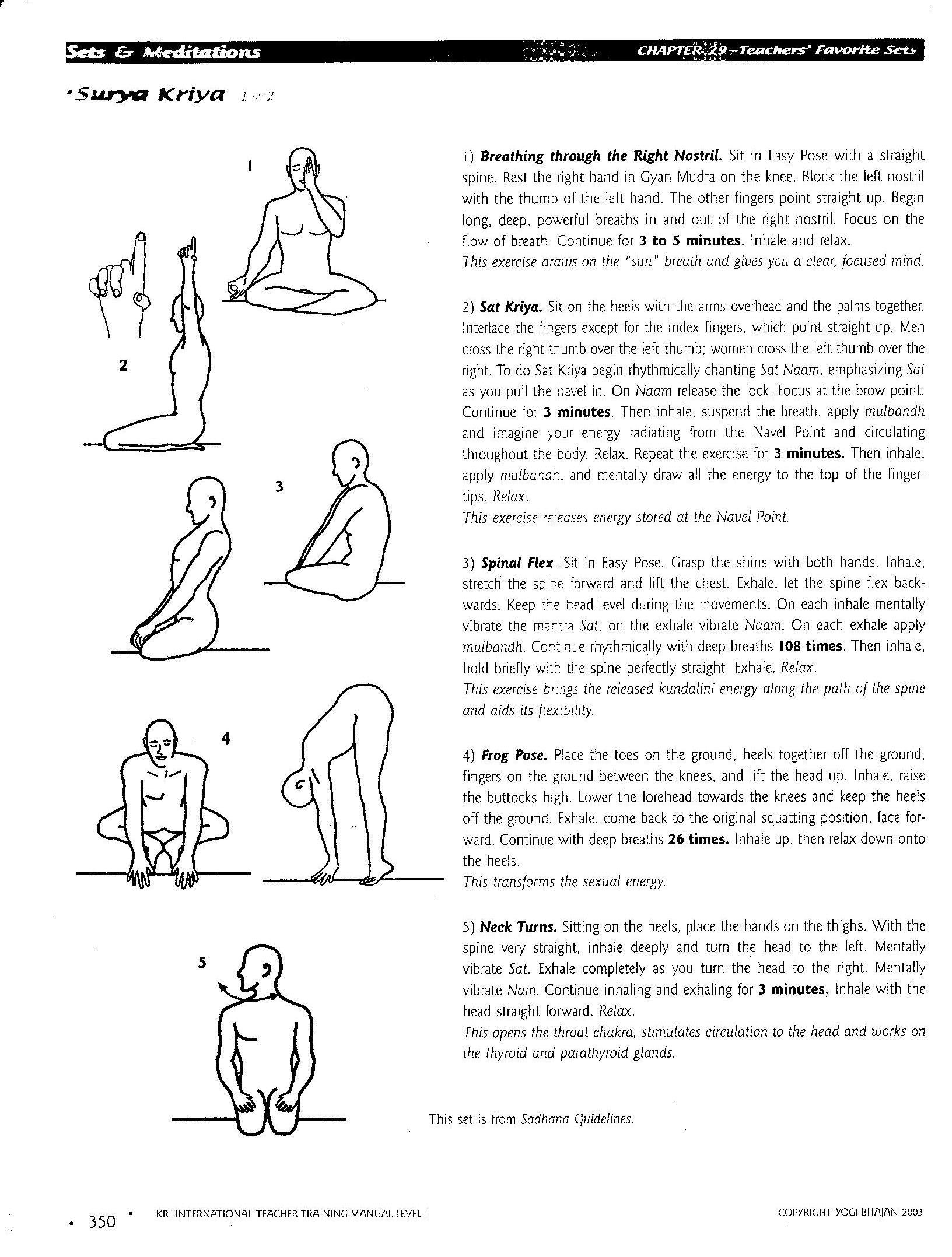 Kundalini yoga exercise sexual energy