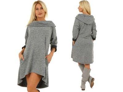 Przedmioty Uzytkownika Moda Fresca Allegro Pl Sweater Dress Fashion Neck Dress