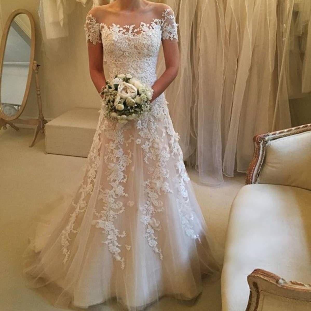 Vestido De Casamento Wanda Borges Em 2019 For That Day