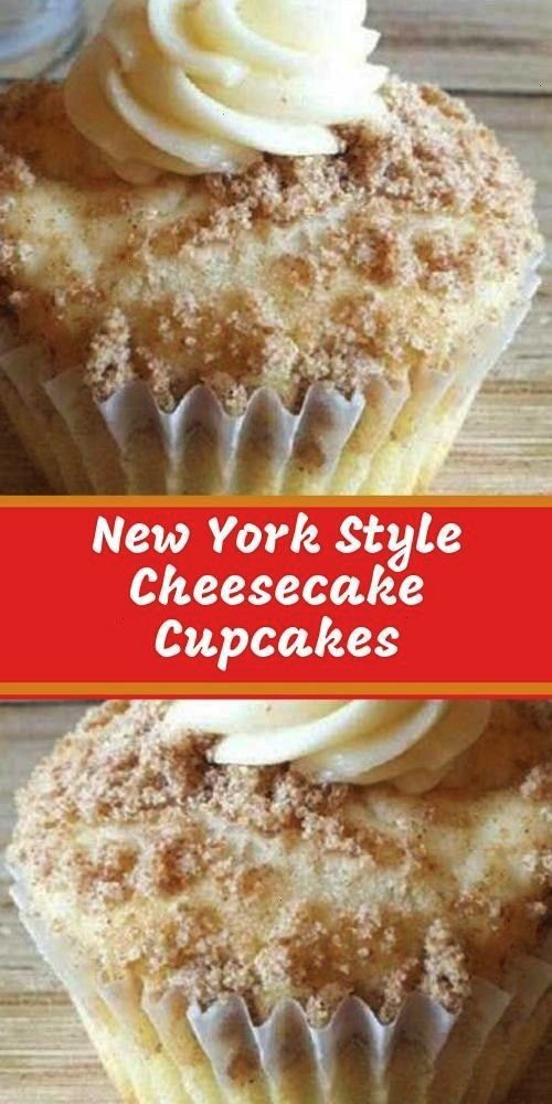 make these New York Style Cheesecake Cupcakes, people just RAVE about them! The crumbled graham cra