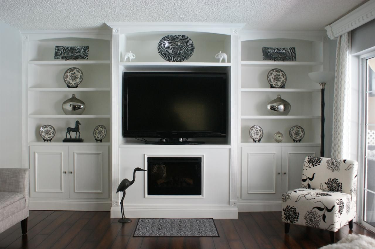 Built In Entertainment Wall Units Here Are Some Photos