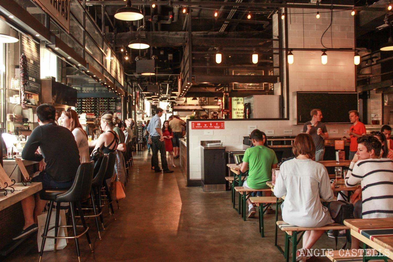Gotham West Market Floor Plan Si Buscas Un Buen Lugar Donde Comer En Manhattan Pásate Por El