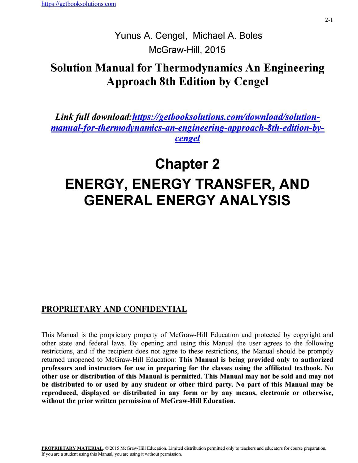 Pdf 5168 Cengel Heat Transfer Solution Manual 2019 Ebook Library