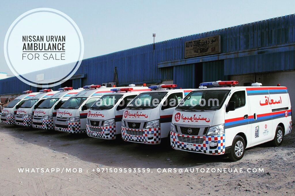 Ambulance For Sale >> Nissan Urvan Ambulance For Sale Whatsapp Mob 971509593559