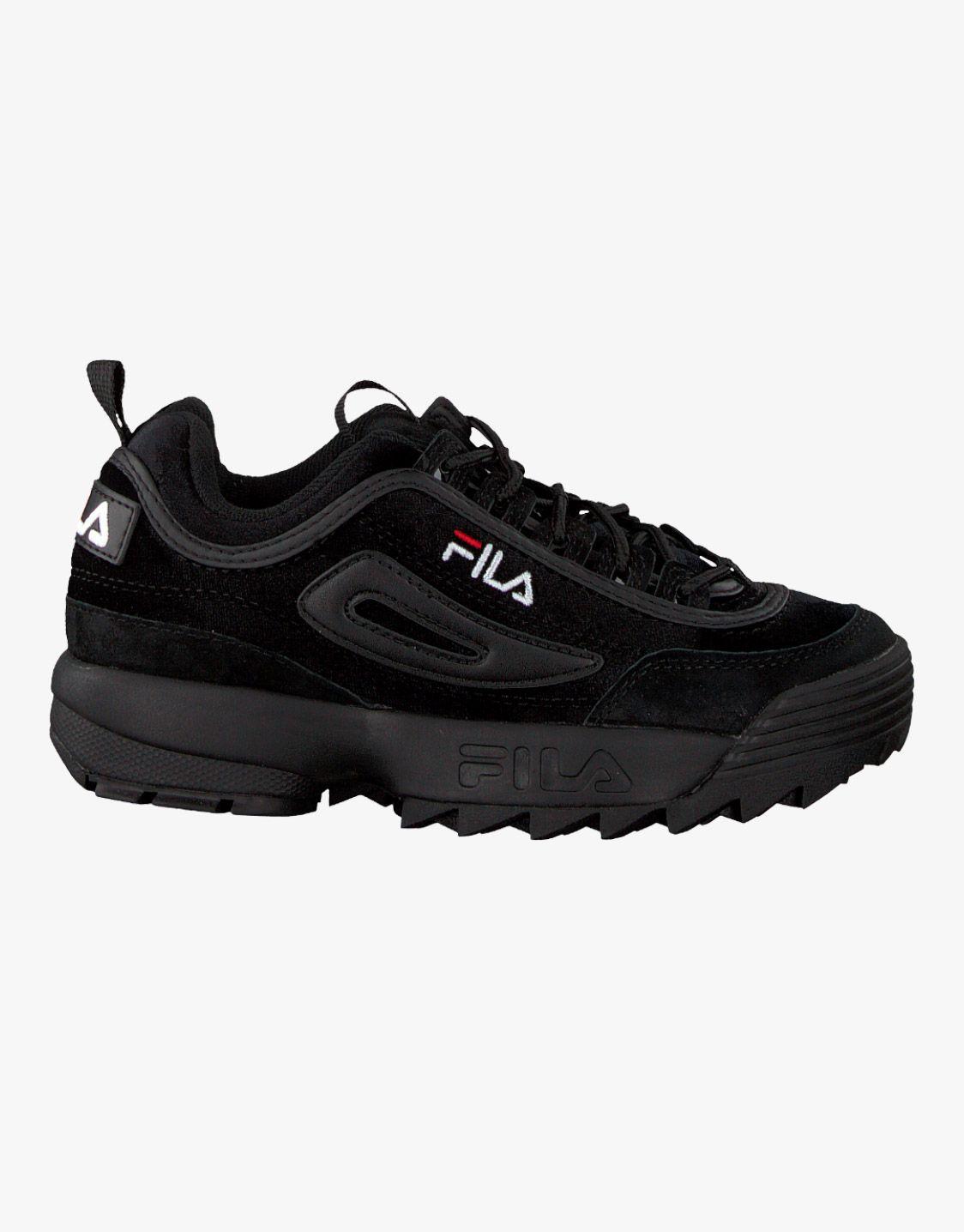 FILA Disruptor black velvet | Preto