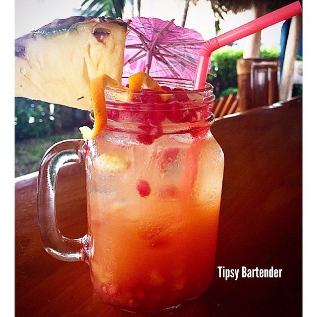 Island Passion With Images Tipsy Bartender Passion Fruit Juice Fun Summer Drinks