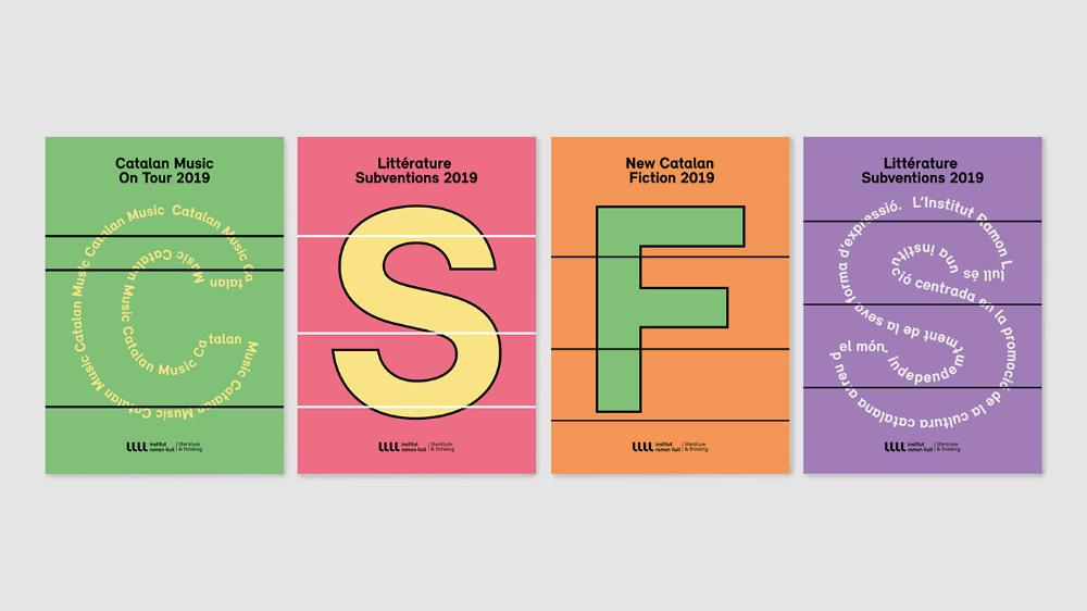 Institut Ramon Llull Rebranding Visual Code Project On Behance Rebranding Code Project Visual