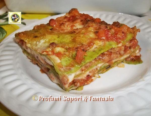Ricetta Lasagne Verdi Alla Bolognese.Pin Su Profumi Sapori E Fantasia