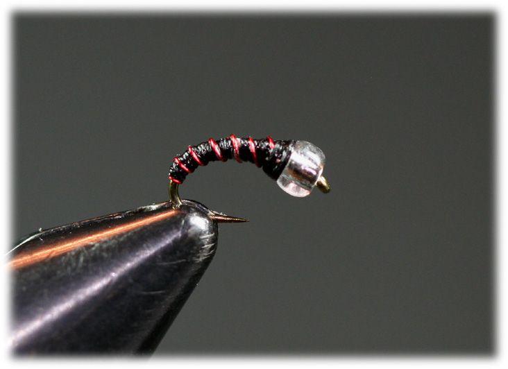 Zebra Midge Snow Cone Fly Tying Patterns Fly Fishin Fly Fishing