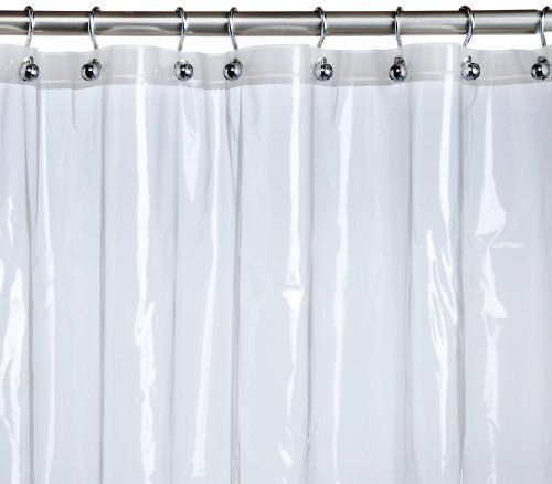 Pinzon Basics Eva Anti Bacterial Shower Curtain Liner Clear By Pinzon By Amazon Com 9 99 Treated For Anti Mildew And Antibacterial Pro Fabric Shower Curtains