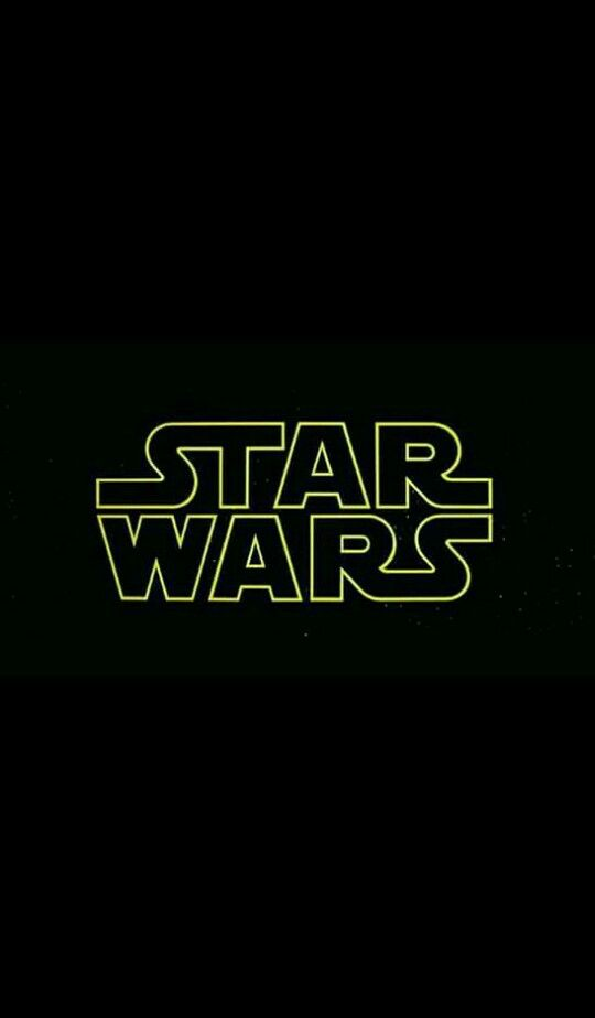 Star Wars Logo - iPhone Wallpaper | Series & Frases ...