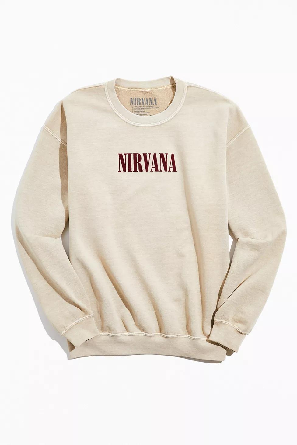 Nirvana In Utero Crew Neck Sweatshirt Urban Outfitters Sweatshirts Hoodie Outfit Men Crew Neck Sweatshirt [ 1463 x 976 Pixel ]