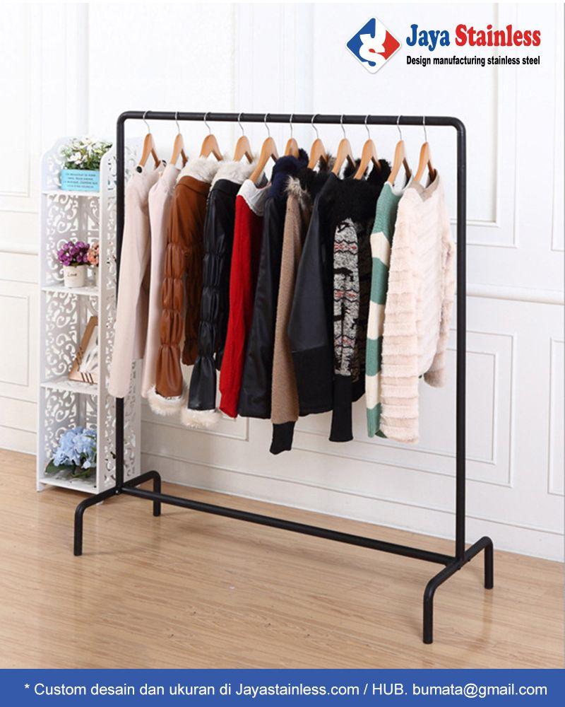 Hanger Baju Besi
