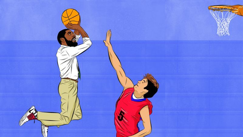 Kyrie Irving Did Outrageous Basketball Stuff At My Tiny High School