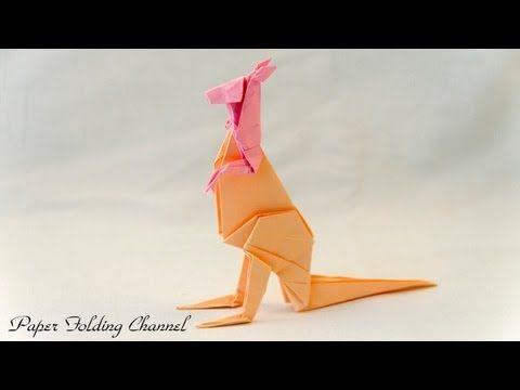 origami kangaroo youtube origami pinterest origami origami kangaroo youtube thecheapjerseys Image collections