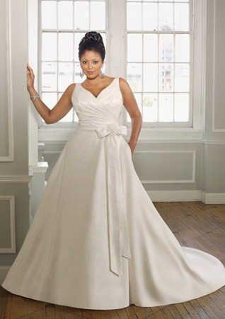 Modelos de vestidos de boda para gorditas