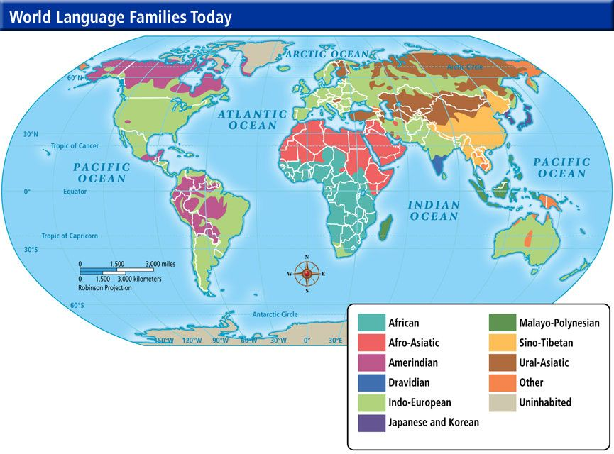 World Language Map | Maps and Globes | Pinterest | Map, World ...