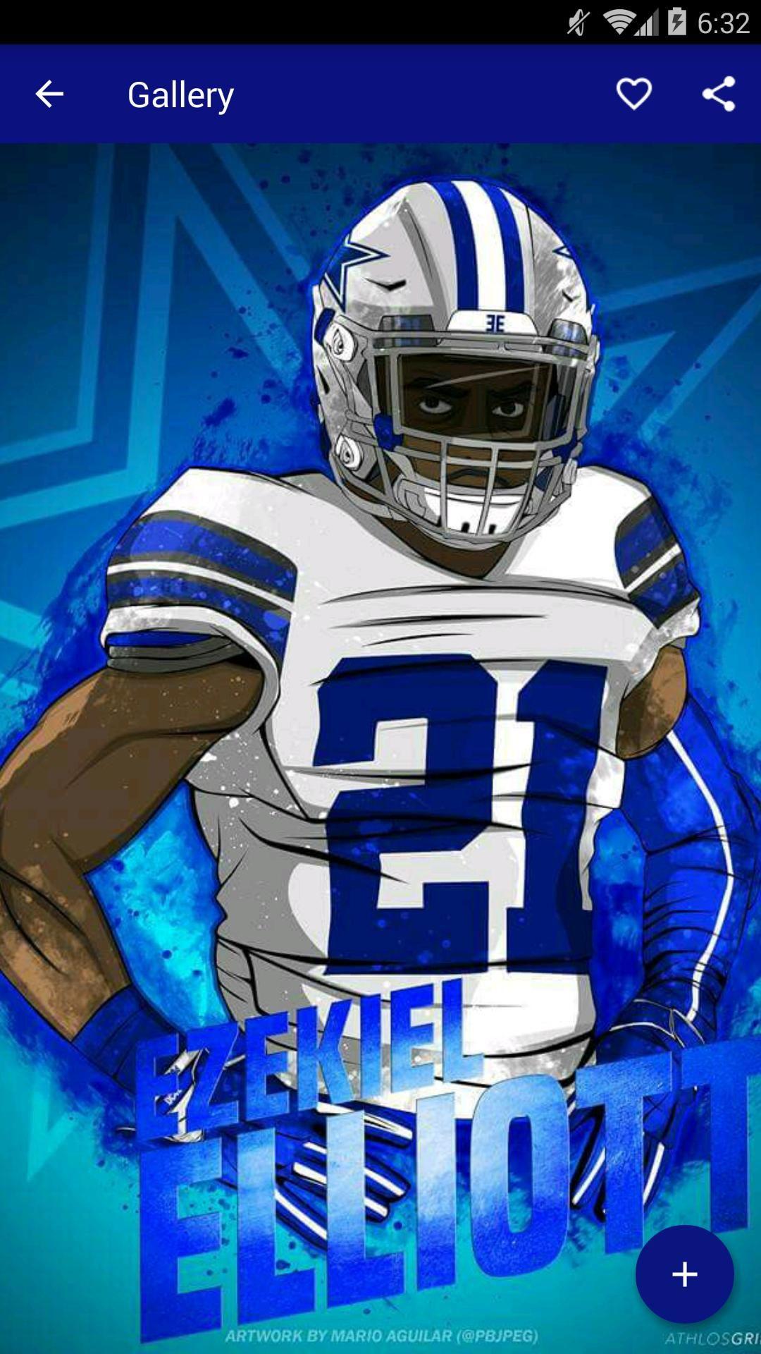 Ezekiel Elliott Dallas Cowboys Wallpaper Hd in 2020 (With