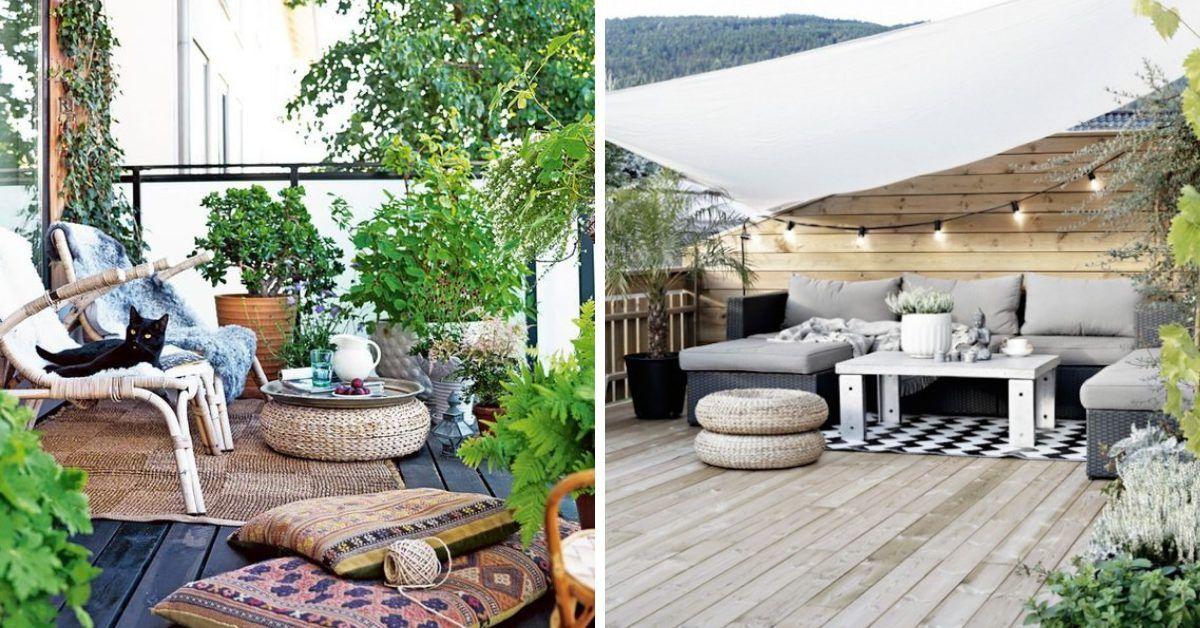 24 Idees Pour Decorer Amenager Une Terrasse Agreable