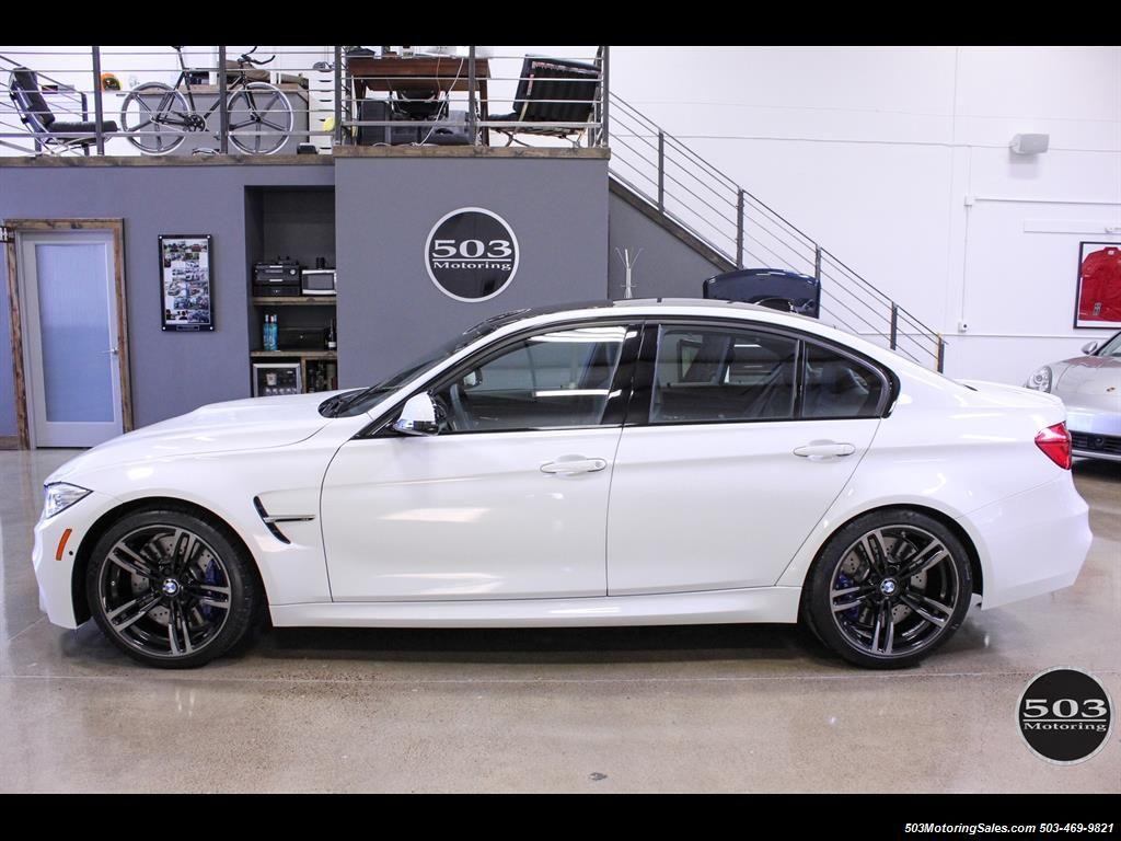2016 Bmw M3 Like New In Alpine White Black W Only 2 150 Miles Photo 3 Beaverton Or 97005 Bmw Bmw M3 Alpine White