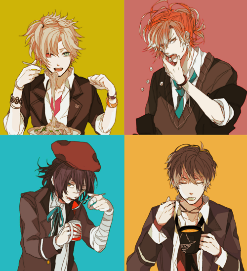 Mukami brothers and favourite food! Diabolik lovers