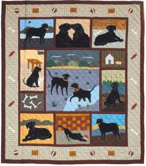 Image Result For Labrador Retriever Quilt Patterns With