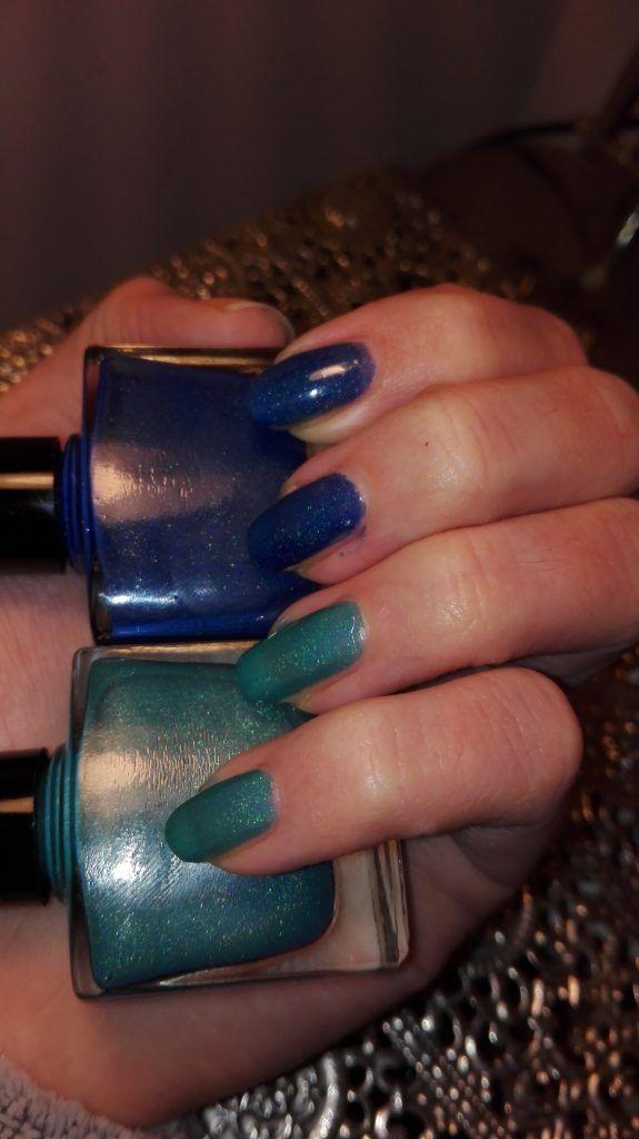 Holographic nail polish - indie polish