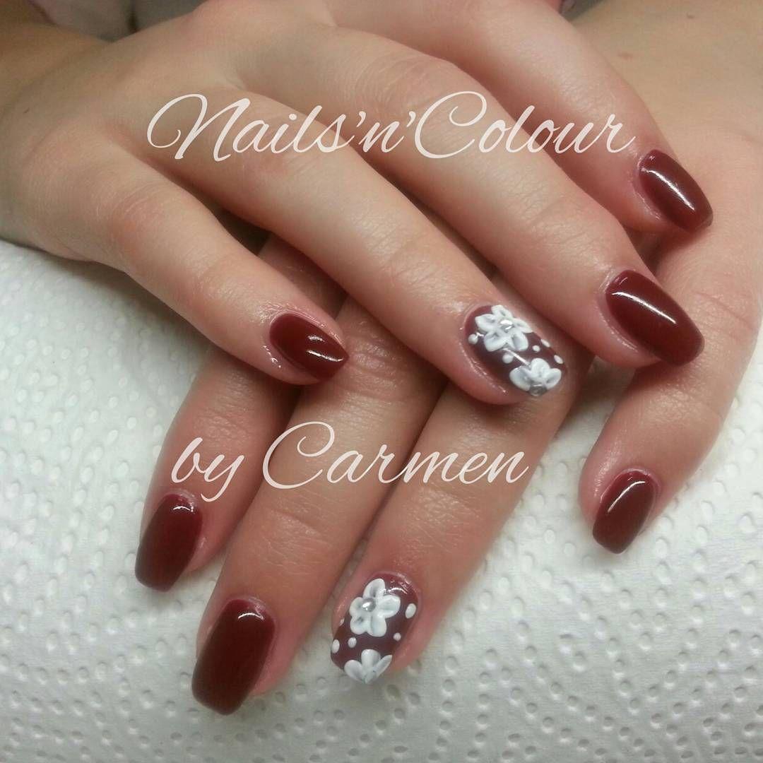 nailart #rote #nägel #elegante #nageldesign #fullcover #nails ...