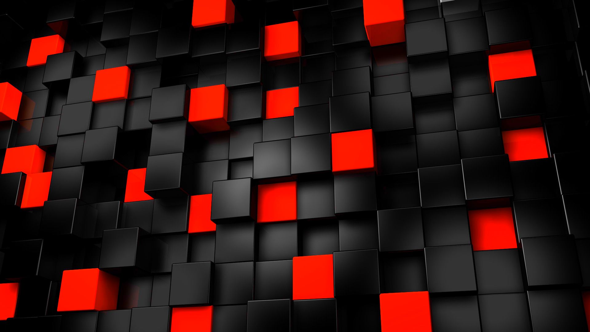 Image For Abstract Art Black And White Red Wallpaper HD 1080p