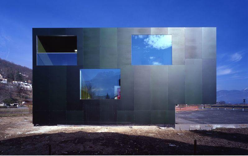 Bonnard woeffray architects bureau logement monthey architecture