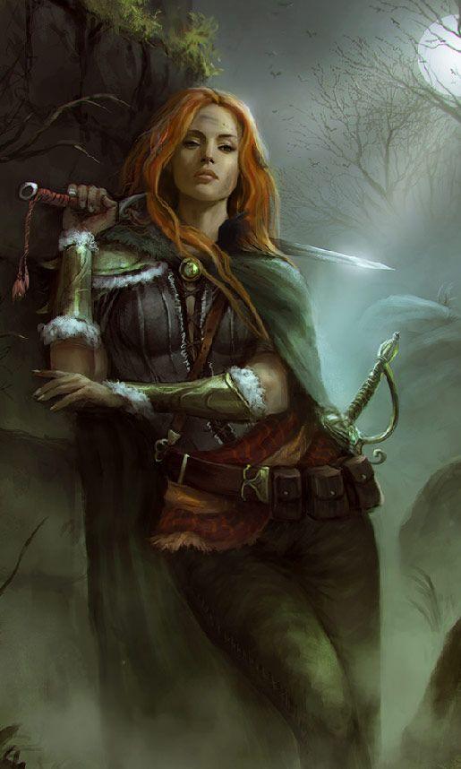 image result for female viking ranger art dnd human