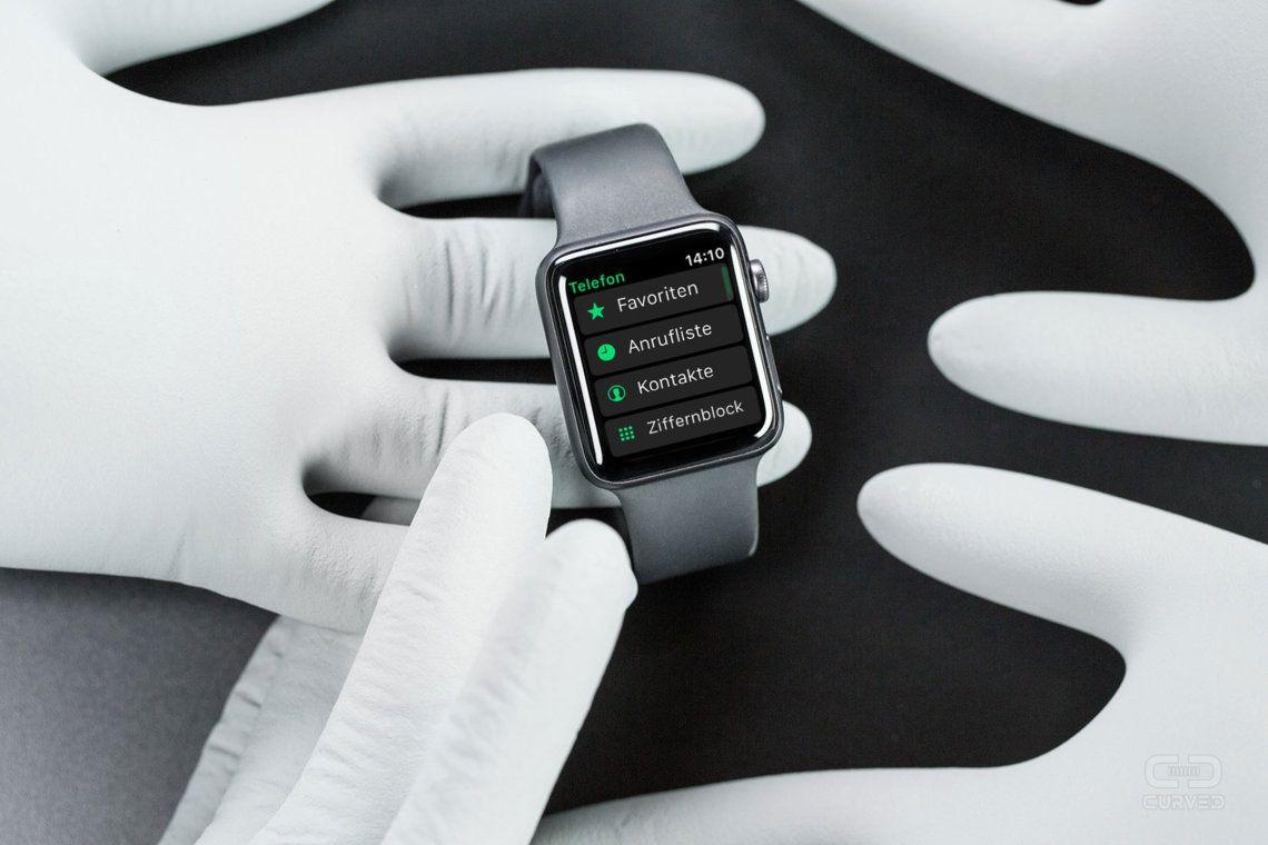 Apple Watch SMS und WhatsAppTexte lesen und schreiben