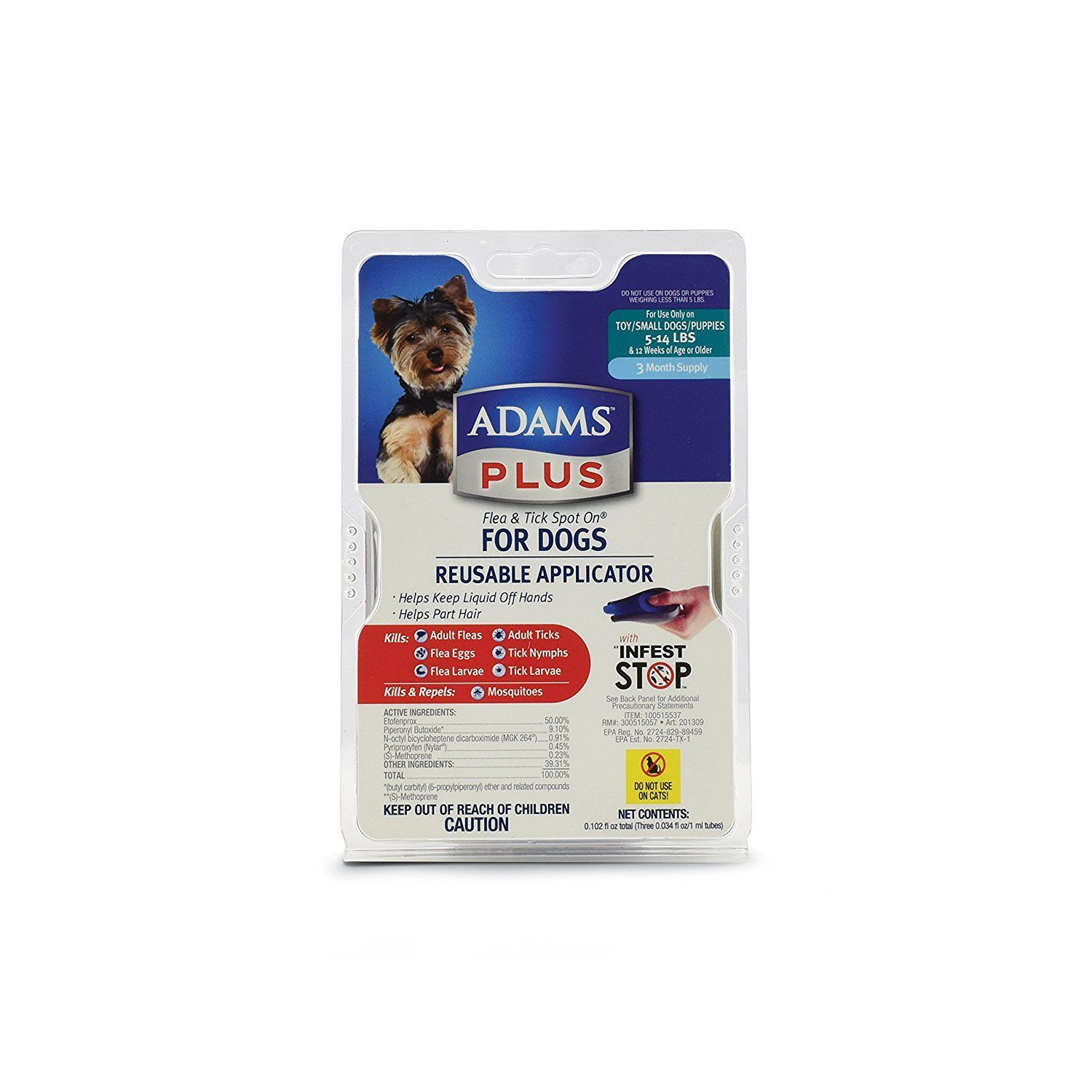 Adams Plus Flea and Tick Control for Dogs ** Details can