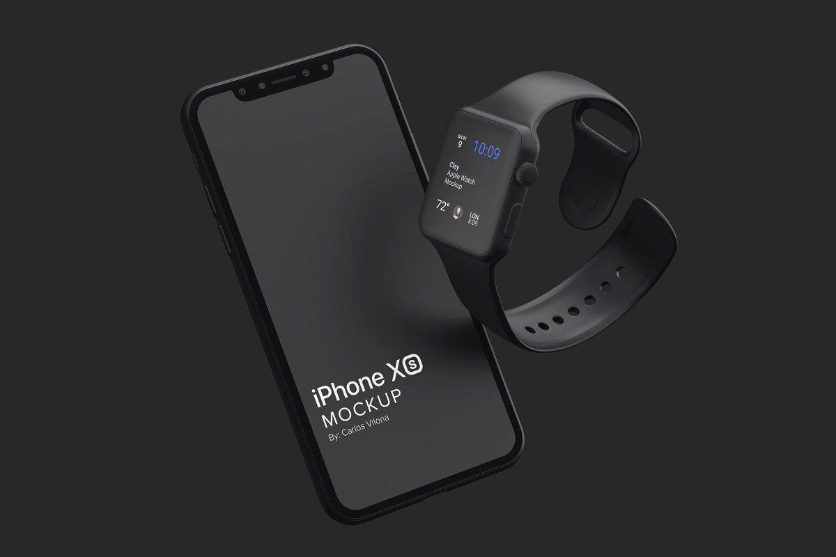 Clay Apple Watch Mockup 06 Apple Watch Iphone Watch Apple