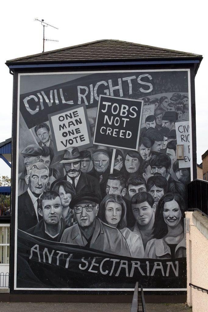 Irish Murals In Derry And Belfast Photo Essay Northern Ireland