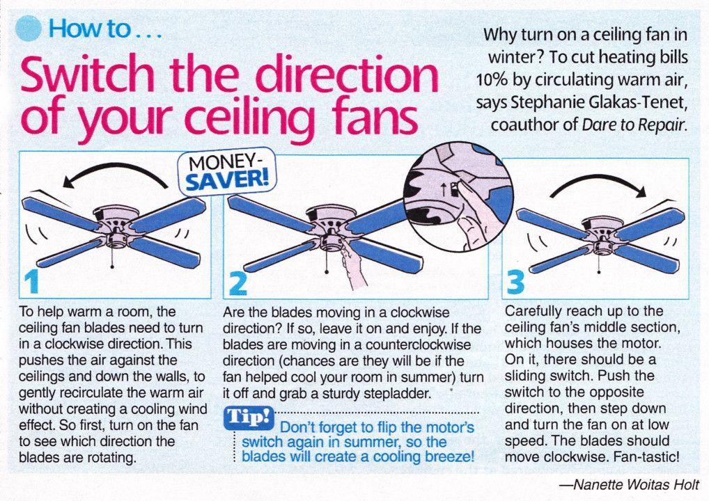 Pin By Krystal Saldivar On House Decor Ceiling Fan Direction