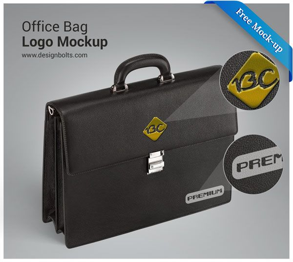 Download Free High Quality Office Bag Logo Mockup Psd Logo Mockup Office Bag Logo Mockups Psd