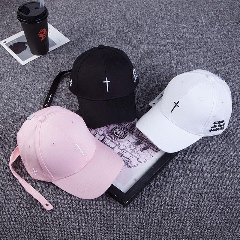 Cross Print Cap Classic Hats Womens Baseball Cap Hats For Women